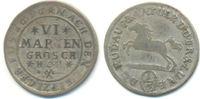 6 Mariengroschen 1697 HCH Braunschweig Wol...