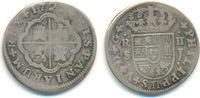 2 Reales Mexiko 1722 J Spanien: Philipp V,...