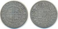 2 Reales Madrid 1737 JF Spanien: Philipp V...