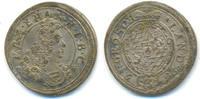 3 Kreuzer 1696 Bayern: Maximilian II. Eman...