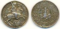 Silbermedaille 1626 Sachsen: Johann Georg ...