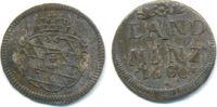 Landmünze zu 2 1/2 Kreuzer 1680 Bayern: Ma...