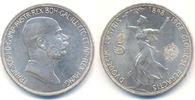 5 Kronen auf sein 60 jähr. Regierungsjub 1...