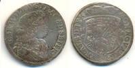 2/3 Taler 1678 C-P Anhalt Zerbst: Carl Wil...