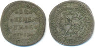 1/12 Taler 1711 IAP Brandenburg Bayreuth: ...
