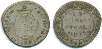1/12 Taler 1696 IAP Brandenburg Bayreuth: ...