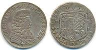 2/3 Taler 1678 CP Anhalt Zerbst: Carl Wilh...