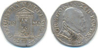 Testone Rom auf das heilige Jahr 1575 Vati...