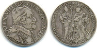 Testone 1690 Vatikan Kirchenstaat: Alexand...