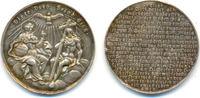 Silbermedaille auf den Glauben 19. Jhrh. D...