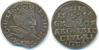 3 Gröscher 1594 Polen: Riga: Sigismund III...