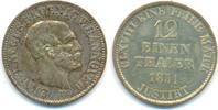 1/12 Taler 1851 B Hannover: Ernst August, ...