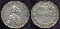 Silbermedaille 1782 Würzburg Bistum: Franz...