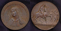 Bronzemedaille 1922 Italien:  vz