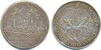 Silbermedaille 1648 Münster: Westfälischer...