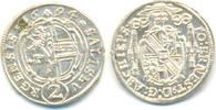 1/2 Batzen zu 2 Kreuzer 1694 Salzburg Erzb...