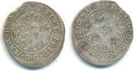 4 Kreuzer 1696 Brandenburg Ansbach: Georg ...