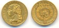 20 Lire Mzst. Turin 1820. ITALIEN, Sardini...