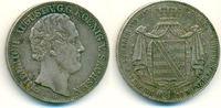 Doppeltaler 1840 G Sachsen: Friedrich Augu...