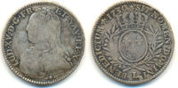 1/2 Ecu. Limoges. 1730 I Frankreich: Ludwi...