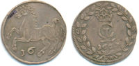 1/16 Taler Clausthal. 1663 LW Braunschweig...
