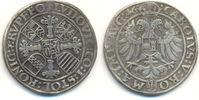 Taler Münzstätte Nördlingen. 1546. Stolber...