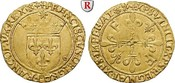 Ecu d´or au soleil o.J. (1519) Frankreich Francois I., 1515-1547, Gold, 3,42 g f.vz