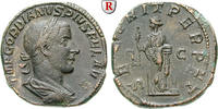 Sesterz 243-244  Gordianus III., 238-244 vz, braune Patina, Rs. Stempel... 370,00 EUR  +  10,00 EUR shipping