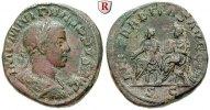 Sesterz 247-249  Philippus II., 247-249 ss+, rot-braune Patina, belegt  290,00 EUR  +  10,00 EUR shipping