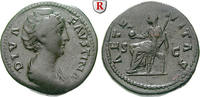 Dupondius nach 141 n.Chr.  Faustina I., Frau des Antoninus Pius, +141 s... 200,00 EUR  +  10,00 EUR shipping
