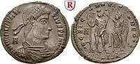 Bronze 350  Constantius II., 337-361 vz-st, kl. Schrötlingsfehler, Stem... 190,00 EUR  +  10,00 EUR shipping
