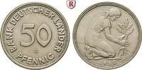 50 Pfennig 1950 G Klein- und Kursmünzen 50 Pfennig 1950, G, Cu-Ni. J.37... 380,00 EUR  +  10,00 EUR shipping