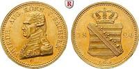 Dukat 1824 Sachsen Königreich Sachsen, Fri...