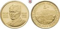 Goldmedaille 1973 Personenmedaillen Tito, ...