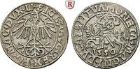 Halbgroschen 1550 Polen Sigismund August, ...