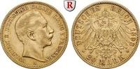 20 Mark 1893 A Preussen Wilhelm II., 1888-...