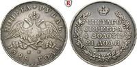 Rubel 1828 Russland Nikolaus I., 1825-1855...