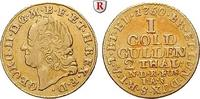 Goldgulden (2 Taler) 1750 Braunschweig Braunschweig-Calenberg-Hannover, Georg II., 1727-1760 ss+