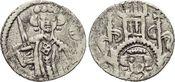 Pfennig o.Jahr um 1300 Wolfhagen-Landgräflich hessische Münzstätte Heinrich I. 1263-1308. Kl.Sf., selten, sehr schön