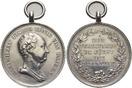 AR-Zivilverdienst-Medaille o. Jahr 1808 Bayern Maximilian I. Joseph 1806-1825. Mit Trageoese und Ring, min.berieben, kl. Sf., selten, vorzüglich
