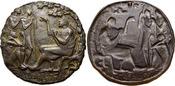 Medaille 1980 Medaillen von Fritz Nuss 1907 bis 1999  Schöne Patina, gussfrisch