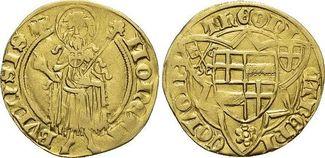 Gold-Gulden o.Jahr 1416 Köln-Erzbistum Dietrich II. von Mörs 1414-1463. sehr schön - vorzüglich