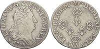 10 Sols - 1/8 Ecu 1705 Frankreich Ludwig X...