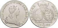 2/3 Taler(Gulden) 1766 Sachsen-Albertinisc...