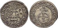 3 Kreuzer 1670 Deutscher Orden Johann Caspar von Ampringen 1664-1684. M... 59,00 EUR  +  5,00 EUR shipping