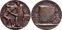 Bronze-Medaille 1921 Medaillen von Karl Go...