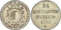 1/24 Taler 1773  G Augsburg-Bistum Clemens-Wenzel von Sachsen-Polen 176... 149,00 EUR  +  5,00 EUR shipping