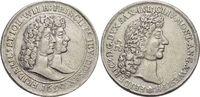 AR-Abschlag vom Doppeldukaten 1690 Sachsen...