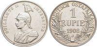 Rupie 1908  J Deutsch-Ostafrika  Kl.Sf.a.R...