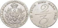 2/3 Taler 1801 Brandenburg-Preussen Friedr...